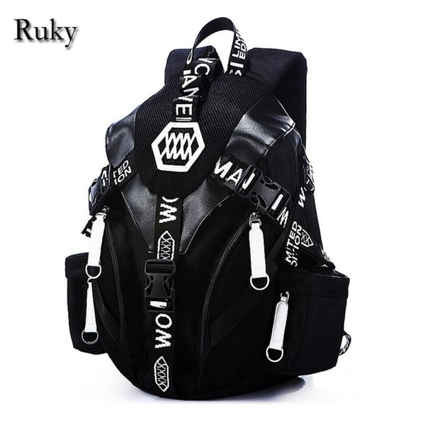 Wholesale- 2016 New Designed Fashion Casual Backpack Men Travel Computer Laptop backpacks High Quality for Teenagers Student School Bags