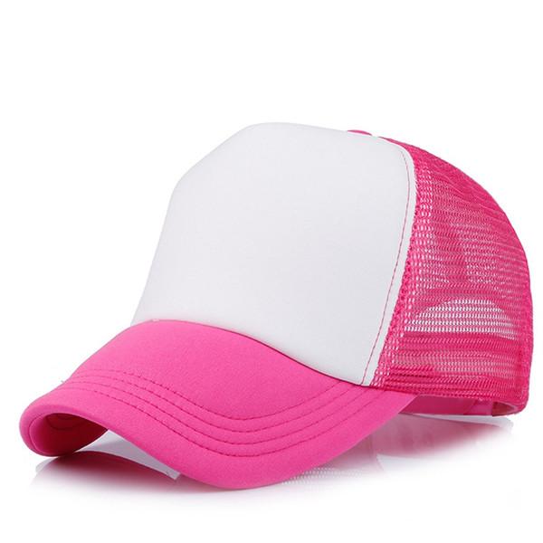 hot pink/weiß