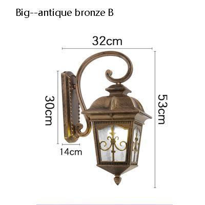 big Antique bronze B