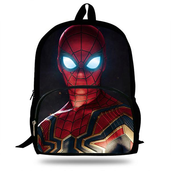 16inch Mochila Backpack Gift Girls Marvel Bags For School Boys Travel Bag Teenagers Bookbag Students