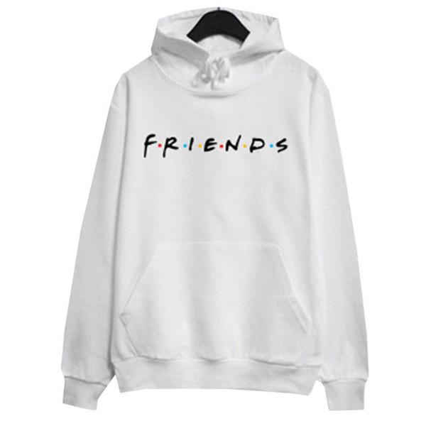 sudadera blanca con amigos