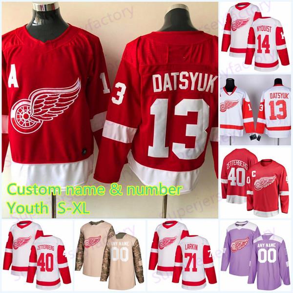 detroit red wings datsyuk jersey