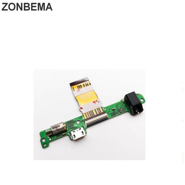 ZONBEMA 5PCS New USB Charging Port Flex Cable For Huawei Mediapad 10 Link S10-201 S10-231 Dock Connector Board Ribbon Cable