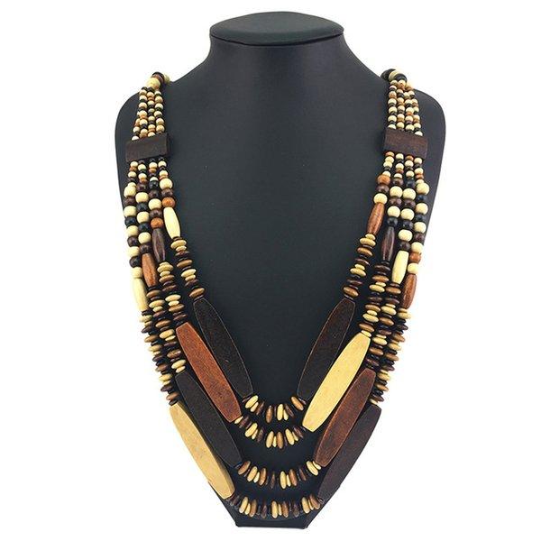 Многоцветный Ожерелье