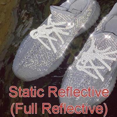 White static reflective