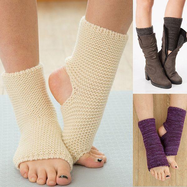 La MaxPa 1 Para Mädchen Ballett Latin Dance Socke Frauen Winter Gestrickte Beinlinge Kinder Frauen Mädchen Dance Ballett Socke k2155