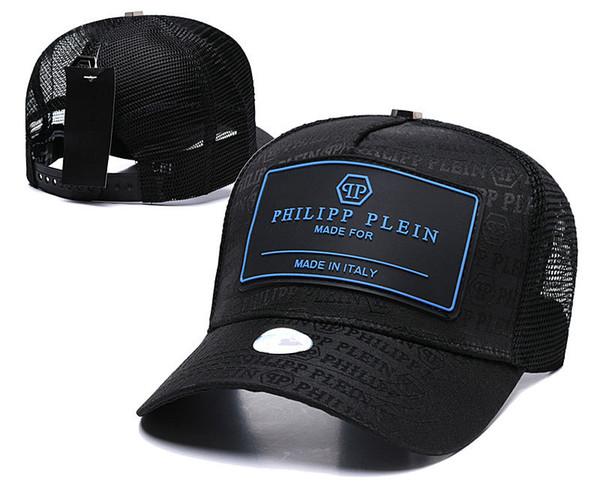 2018 meistverkaufte Designer PP Schädelkappe Casquettes Baseballmütze Gorras Modemarke Baseball Hüte Rennen Headwear Giants Knochen Sonnenhut Luxus