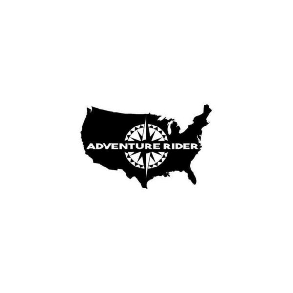 Adventure Rider Navigation Art Car Window Bumper Vinyl JDM Sticker Bumper Novelty Drift Vinyl Decal Sticker 17.8CMx11.5CM