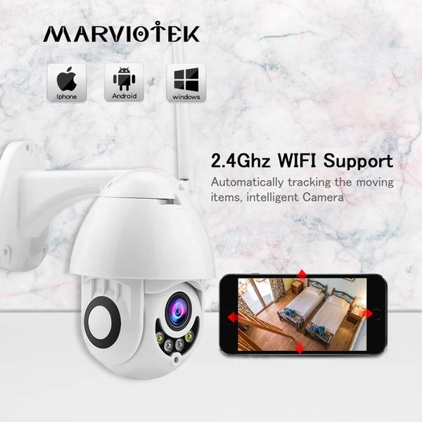 WIFI IP Camera Outdoor CCTV Camera 1080p Mini Speed Dome Home Security Cameras PTZ Exterior IR Video Surveilance P2P Ipcam WIFI