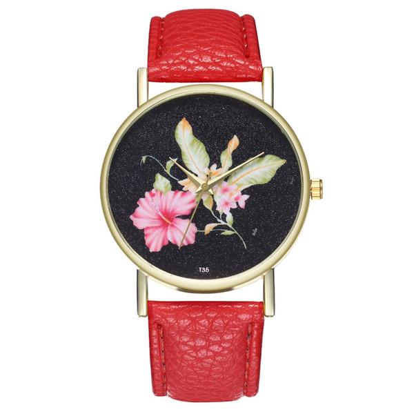 Темперамент Классические кожаные женские часы Мужские и женские подарочные кварцевые часы женские часы с кожаным ремешком #XTN