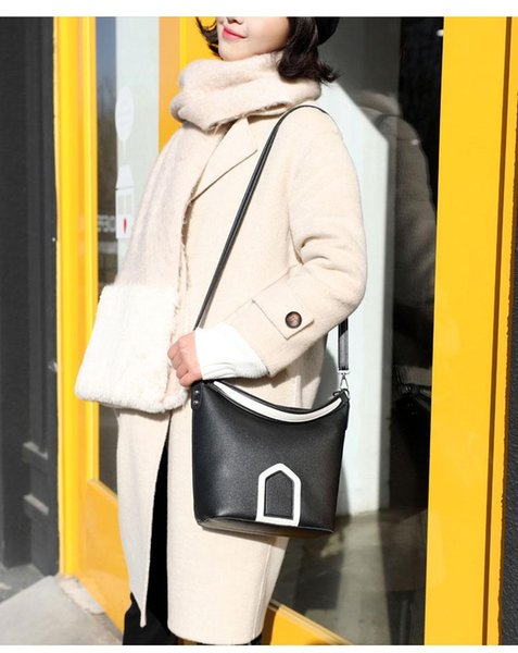 2019 latest ladies handbag high quality leather shoulder bag female handbag Messenger bag letter bag #1562, free shipping