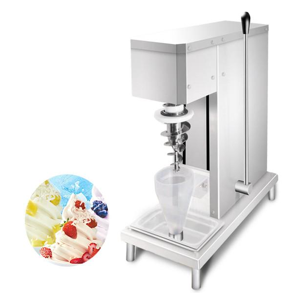 BEIJAMEI gelato Swirl Les fruits congelés machine mélangeur fabricant mélangeur de crème glacée yogourt prix de mélange de crème glacée