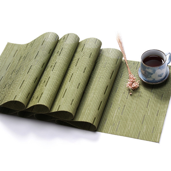 Wedding Party Table Runner Burlap Natural Jute Imitated PVC Rustic Table Decoration Accessories Home cloth