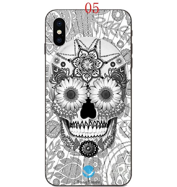TongTrade Mexican Sugar Skeleton Skull Shape Case For ... Iphone 5 6 7 8 X Xr Xr Max 5s 6s 7s 8s Prices