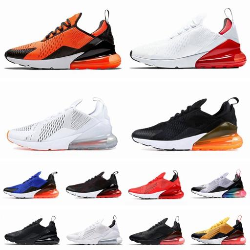 e78886dfcc University Red 270 Mens Womens Flair Trainer Running Shoes 270s Just Do It  Olive Volt Habanero