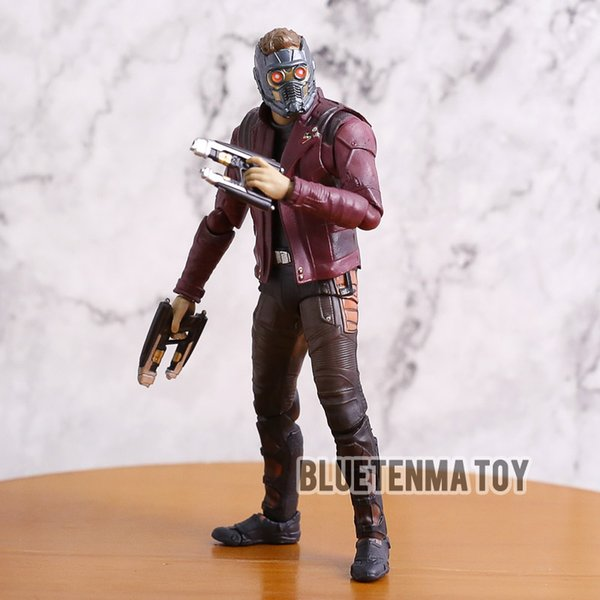 Marvel Film Avengers: Infinity War Les Gardiens de la Galaxie Personnage Star Lord Peter Figure d'action mobile Jouet Jouets