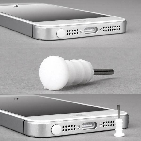 100 шт док-станция крышка пылезащитный штекер анти пылезащитный колпачок для наушников пылезащитный разъем для универсального смартфона DHL бесплатная доставка