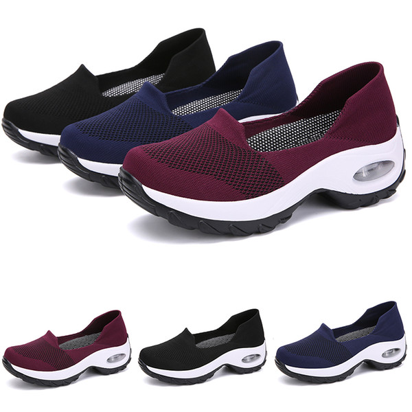 2020 Black blue RED GIRL women Running Shoes LADY Simple TYPE8 Jogging Brand low cut fashion cheap Designer trainers Sports Sneakers 39-44