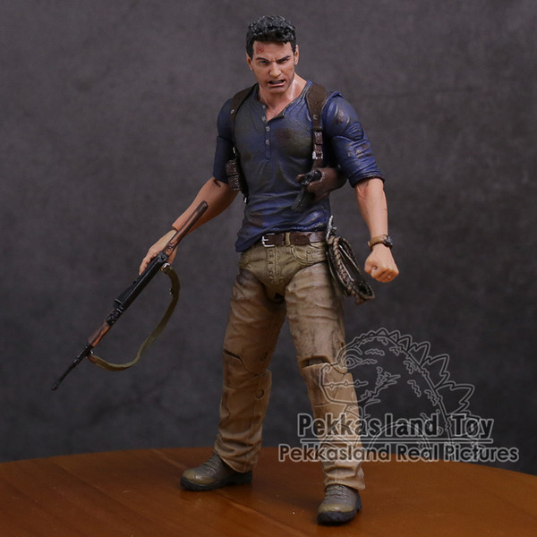 2019 Neca Uncharted 4 A Thief S End Nathan Drake Ultimate Edition Pvc Action Figure Collectible Model Toy 18cm From Jokerstore 36 19 Dhgate Com