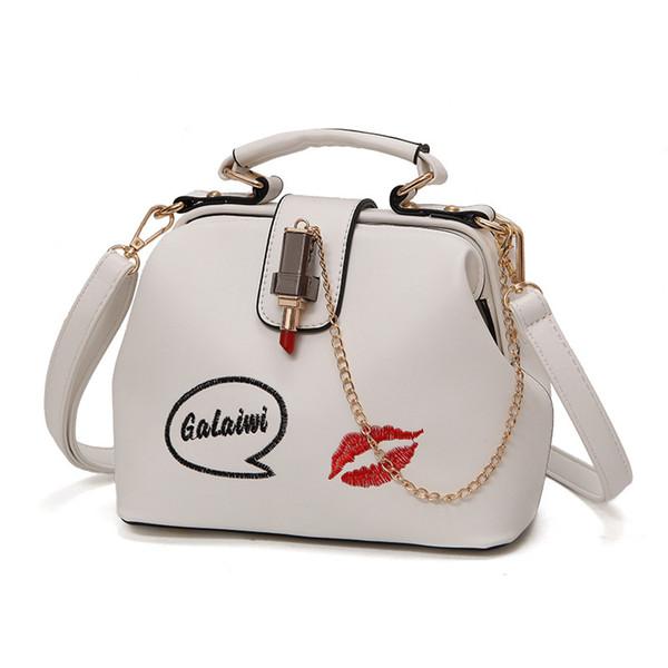 Borse Borse da donna Borse da spalla di moda in pelle di design Catene Design Piccola borsa da donna Messenger con tracolla