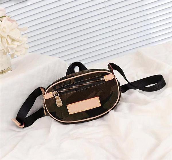 top popular 2017 Box Logo Luxury Camo Bumbag Cross Body Shoulder Bag Camouflage Autn Material Waist Bags Bumbag M44202 Cross Fanny Pack Bum Waist Bags 2020