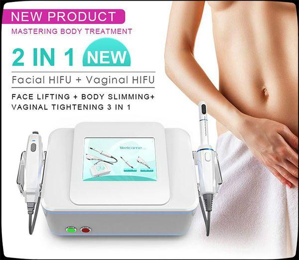 NOUVEAU Hifu Private Care serrant le vagin hifu machine Visage Corps lifting peau rajeunissement machine hifu équipement de beauté vaginal CE