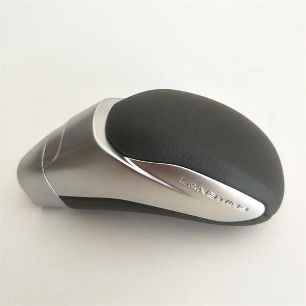 Automático de cambio de marcha del coche pomo de la palanca de caja de cambios palillo de cabeza Mangos para Highlander Camry Corolla Previa Alphard Piel