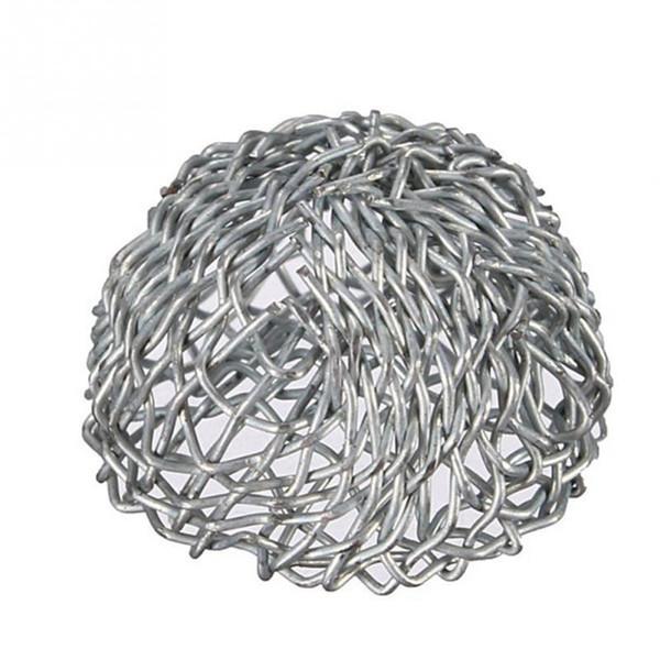 All'ingrosso fumo Retina Tubo Tubi d'argento Tabacco fumatori del metallo dello schermo Ball Filtri 10pz Percolator Leach netto / lot