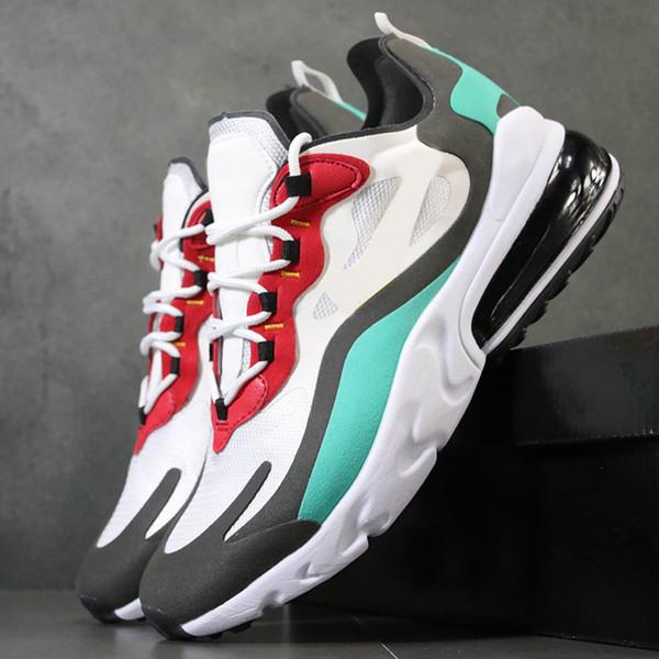 2019 Designer Air Cushions React Mens Running Shoes Bauhaus Hyper Jade Black Vast Grey Phantom Best Quality Mens Breathable Sports Sneakers