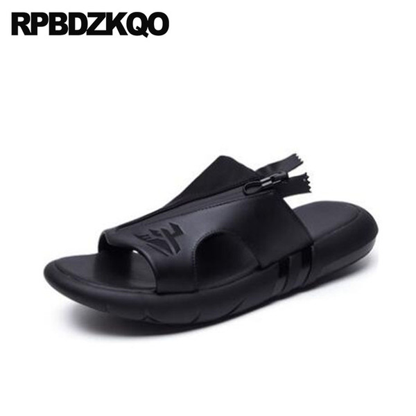 658bfe376713b1 Slippers Platform Sport Japanese High Quality Beach Waterproof Shoes Slides Mens  Sandals 2018 Summer Outdoor Water Soft Sneakers