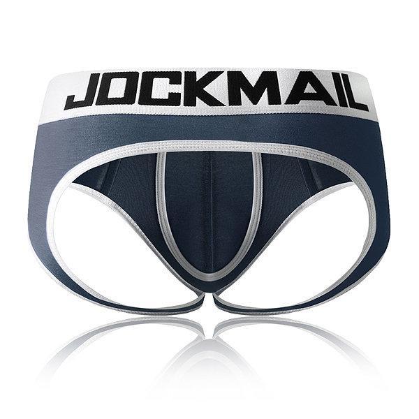 4colors JOCKMAIL ouvert entrejambe dos nu G-strings sexy Hommes pénis Sous-vêtements pour hommes pochette slips tanga hommes Sous-vêtements bikini Gay Slip de Thongs
