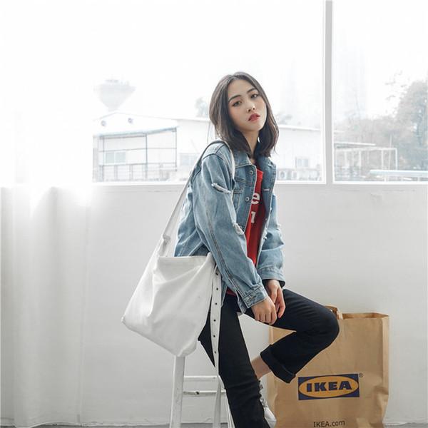 2019. Kanvas çanta. büyük. El çantası. Tek omuz çantası. Kadın çantaları. Çapraz vücut. Omuz Çantaları Alışveriş Moda rahat çanta. Y22