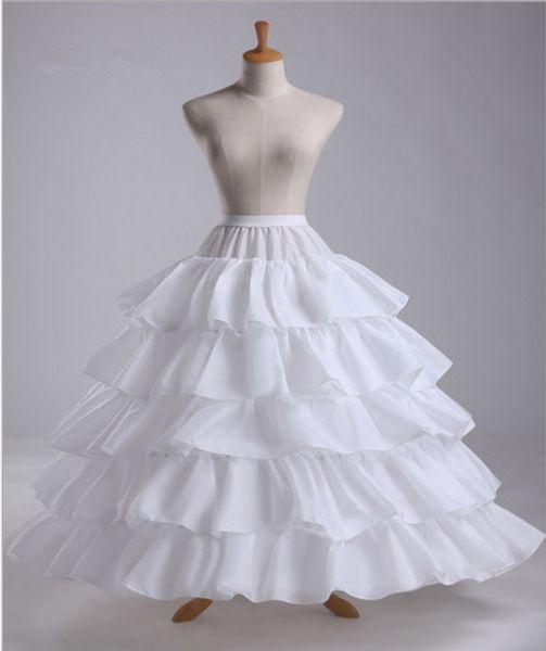 Wholesale Skirt Support Four Steel Ring Five Lotus Leaf Increase Diameter Skirt Wedding Dress Super Poncho Skirt Factory Direct Spot