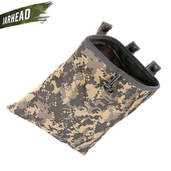 Im Freien wasserdichte MOLLE Military Big Recovery Bag (30x25cm) Radfahren Bike Camouflage Tactical Recycling Tasche Klettern Müllsack # 861510