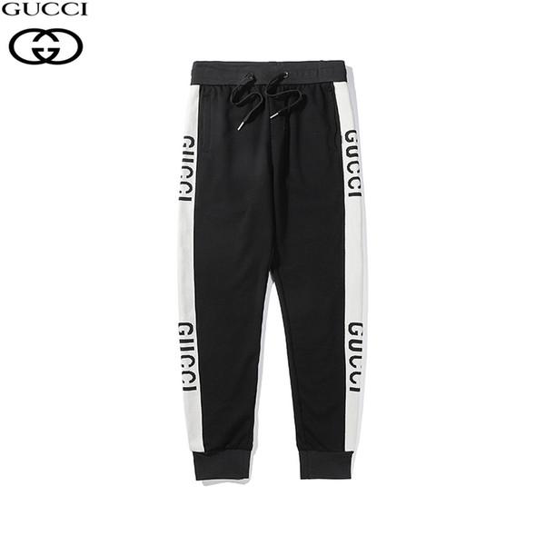 Sonbahar kadın Erkek Pantolon Rahat Sweatpants Katı Hip Hop yüksek sokak Pantolon Pantolon Erkek Joggers boy marka yüksek kalite pantolon 40567