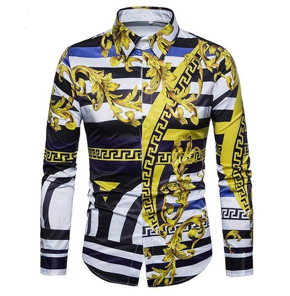hawaiian shirt Высокого качество бренда мужских рубашек Моды льняного Slim Fit отложных мужчины с длинным рукавом платье рубашка мужских Гавайских Большого размер бестселлеры