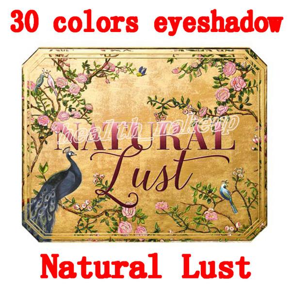 Качественная косметическая многогранная палитра NATURAL LUST 30 цветов теней для век Естественно сексуальная палитра теней для век Высокое качество Бесплатная доставка