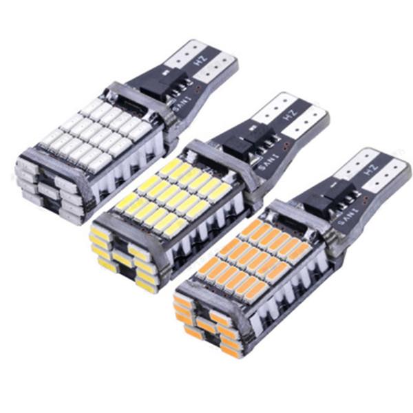 Extrem helles LED-Unterstützungsglühlampen-Fehler-freies T15 4014 45smd für Auto Unterstützungsrücklichtauto-Leselicht