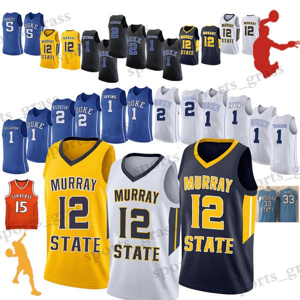 1 Zion Williamson 12 Ja Morant Wear NCAA Basketball 2 Cam Rötlich 5 RJ Barrett College Basketball Trägt Hochwertiges HEISSES