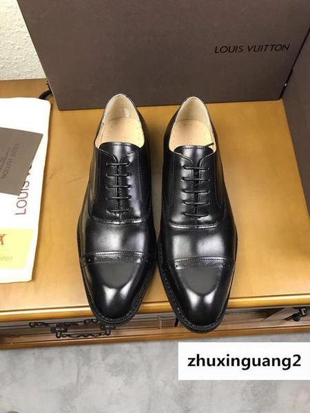 Черный Формальный Бизнес 2029 Guan Мужчины Классическая Обувь Сапоги Мокасины Водители Пряжки Кроссовки Сандалии