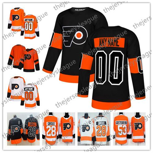 Flyers Adult Crewneck Sweatshirt Personalized Custom Name /& Number