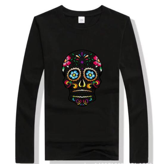 Hommes Femmes 100% coton T-shirts à manches longues Polos T-shirts Design de mode Casual Active T-shirts Chemises Polos Tops Gros fgds