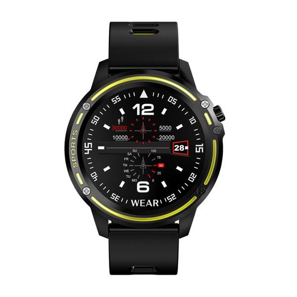 HD Color reloj digital de pantalla grande para hombre reloj inteligente para hombre IP68 a prueba de agua reloj deportivo reloj multifunción salud certificación CE