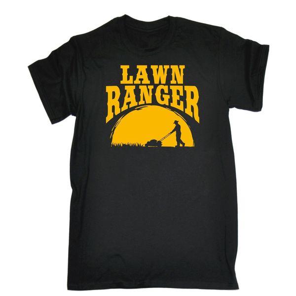 Erkek Çim Ranger Komik Joke Bahçe Mizah T Gömlek Doğum Günü Hediye Mevcut Baskılı Erkekler T Gömlek Kısa Kollu Komik Tişörtlerin