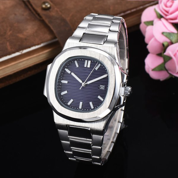 hot sale high quality U1 factory automatic quartz men watch blue dial Sapphire stainless steel glass back men's watches