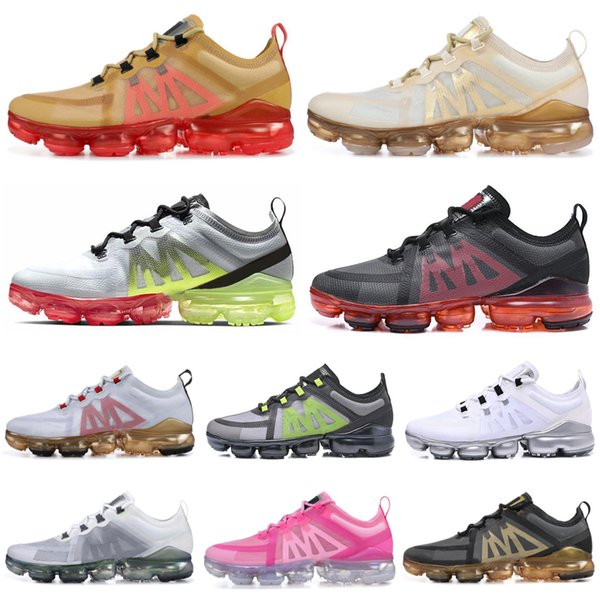 Buffer Laser Fuchsia Utility Men Running Shoes Grey Volt Anthracite Reflect Celestial Teal Runner mens trainers Sports Sneakers 40-45