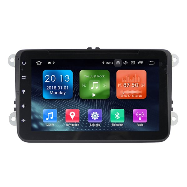 Zhuohan 8 Inch HD Android Car DVD Player for VW GOLF/POLO/PASSAT with Bluetooth GPS (AD-L8025)