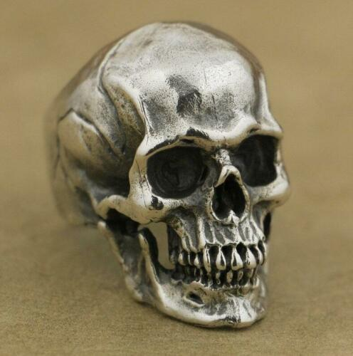Fashion Skull Bone Finger Ring Decorate Many Styles Heavy Men's Skull Stainless Steel Ring Gothic Vintage Jewelry Size 7-13