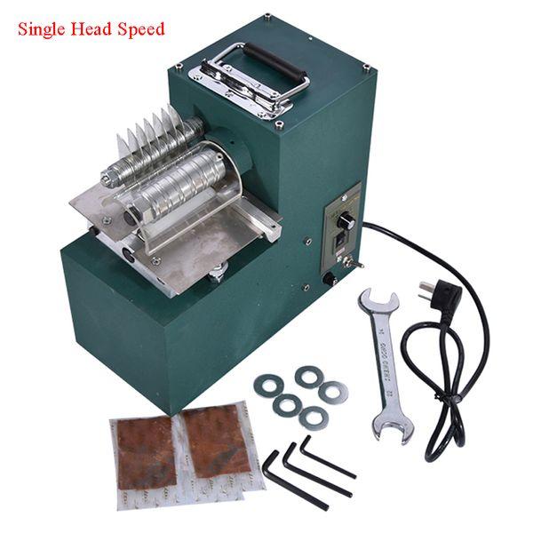 best selling 1PC Single head strip cutting machine 1400r min1:12.5 Leather Strip Cutting Machine Leather Cutter Tool Hot