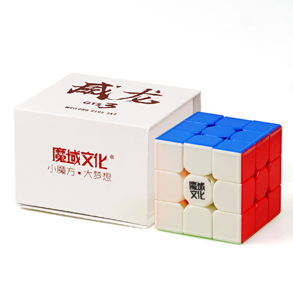 Moyu Weilong GTS3 3x3x3 Magic Cube Puzzle WeilongGTS V3 Speed Cube GTS 3  Not Magnetic Cubo Magico Professional Toys For Children Celluon Magic Cube
